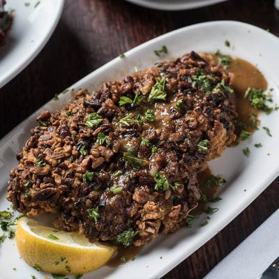 Pecan-Crusted Ricochet Catfish