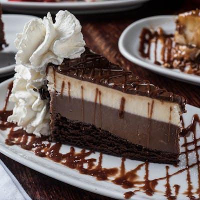 Black & White Tuxedo Cheesecake