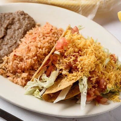 Two Crispy Taco Dinner (Monday Special)