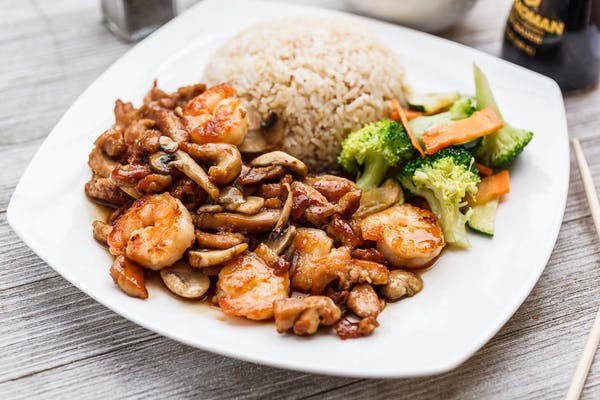 Teriyaki Chicken & Shrimp