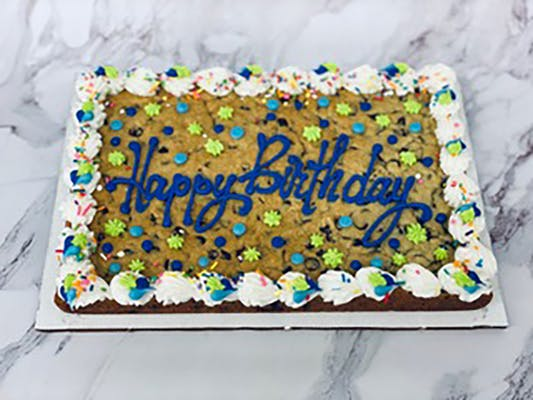 "(9""x13"") Rectangle Cookie Cake (serves 15)"