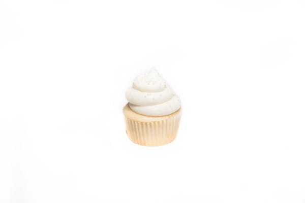 Wedding Cake Cupcake w/ Vanilla Buttercream Icing