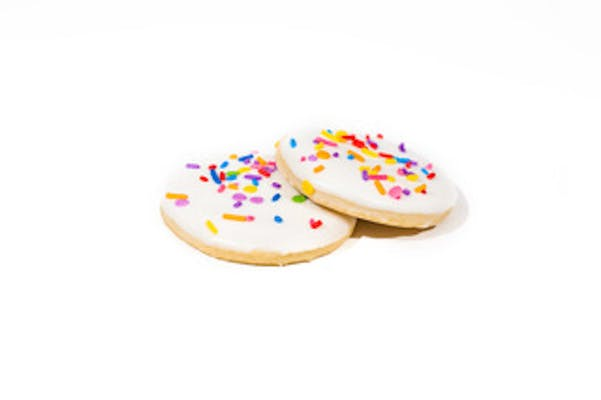 Sugar Cookies w/Sprinkles