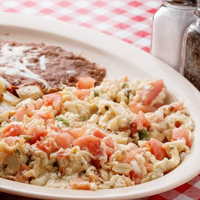 Eggs a la Mexicana Plate