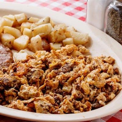 Chorizo & Eggs Plate