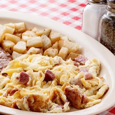 Ham & Eggs Plate