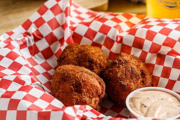 Fried Mac & Cheese Balls
