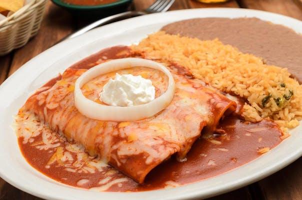 15C. Chicken Enchiladas de Mole