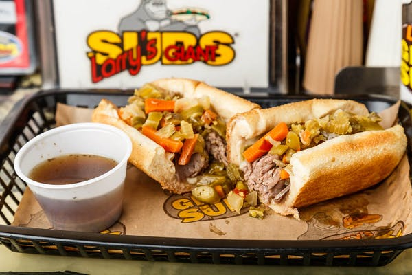 Chicago's Own Italian Beef Hot Sub