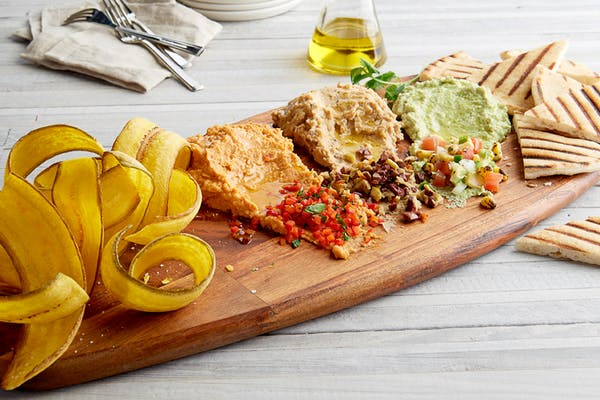 Mediterranean Hummus Tasting