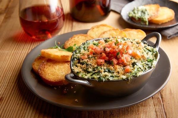 Crab, Artichoke & Spinach Dip
