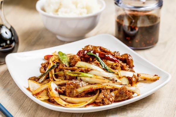 B4. Mongolian Beef