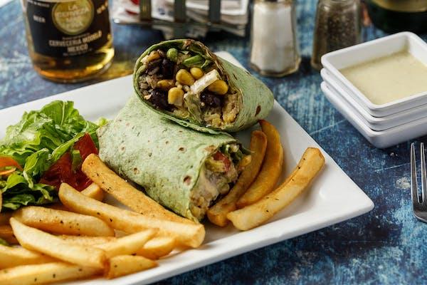 Vegetarian Wrap Meal