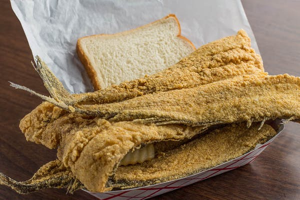 Fried Pan Trout Sandwich
