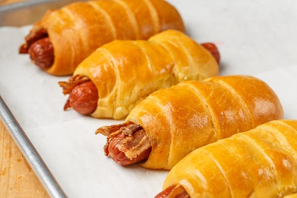 Sausage, Bacon & Cheese Kolache