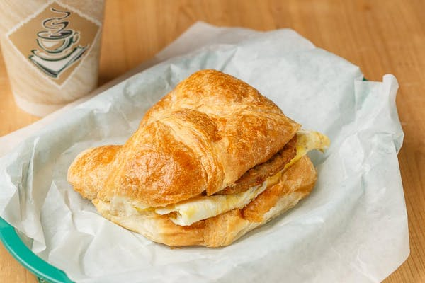 Ham, Bacon, Egg & Cheese Croissant