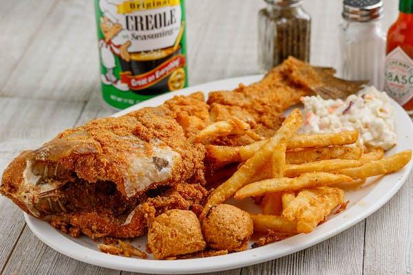 Whole Catfish Dinner