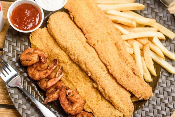 Fish & Shrimp Combo