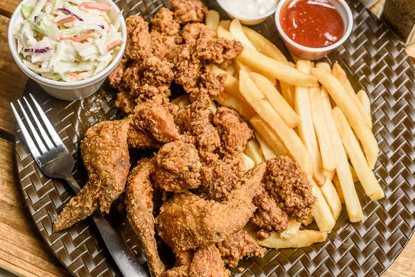 Catfish Nuggets & Gizzards Combo