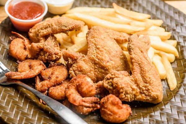 Wings & Shrimp Combo