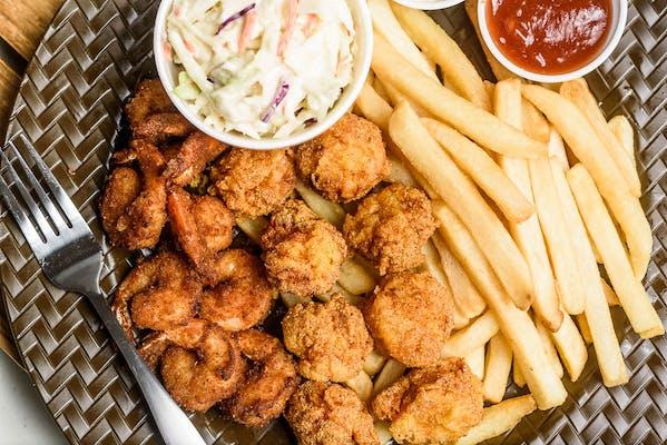 Scallops & Shrimp Combo
