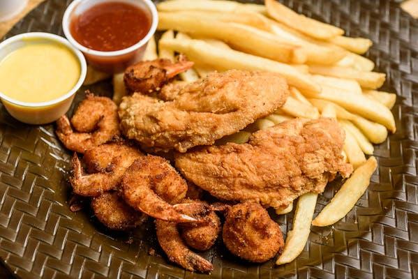 Chicken Tenders & Shrimp Combo