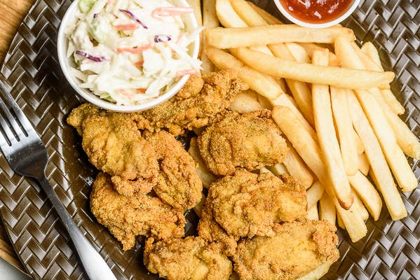 Fried Oysters Dinner