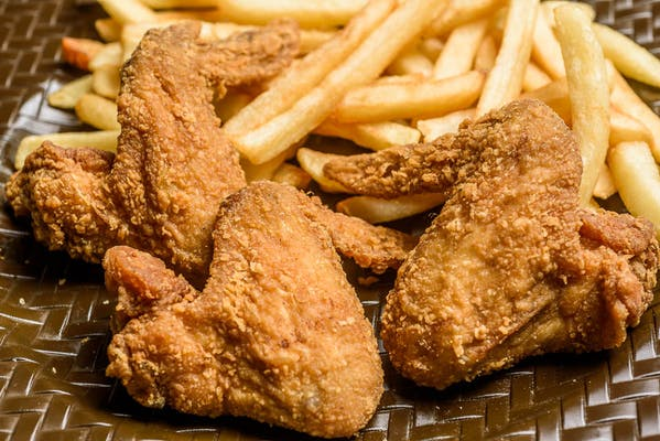 Whole Wings & Fries