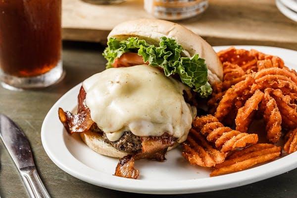 The 5 Spot Classic Burger