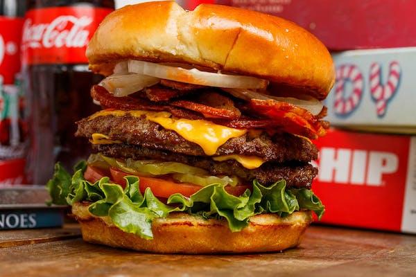 The Bacon Scoop Burger Entrée
