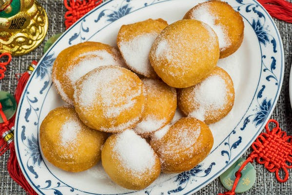 10. Chinese Donuts