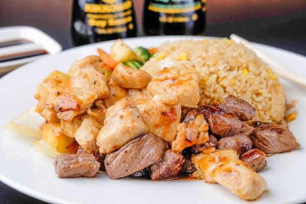 Steak & Chicken Hibachi