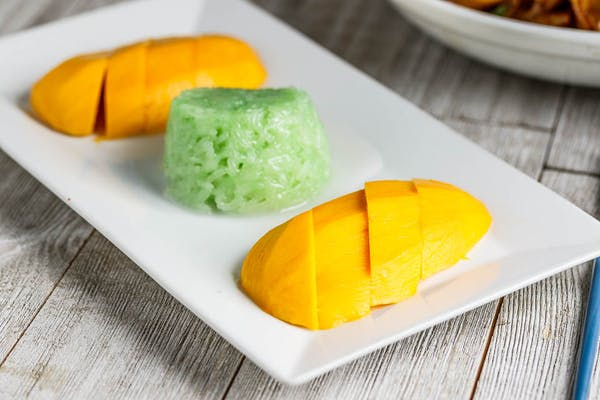 Sweet Sticky Rice & Sweet Mango