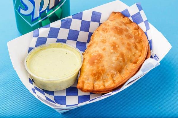 Sofrito Chicken Empanada
