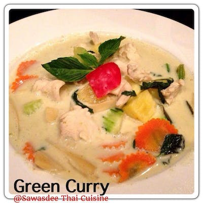 Green Curry Lunch Special