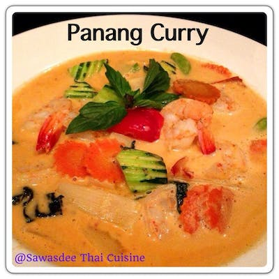 Panang Curry Lunch Special