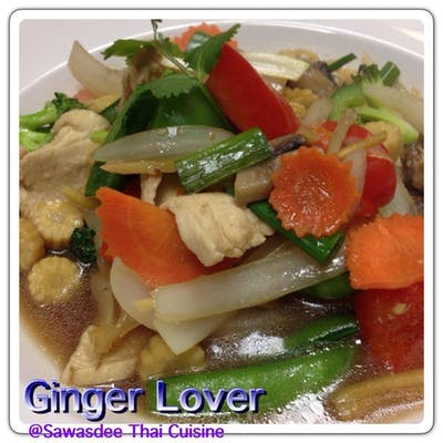Ginger Lover's Lunch Special