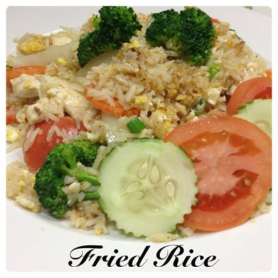 Thai House Fried Rice Lunch Special