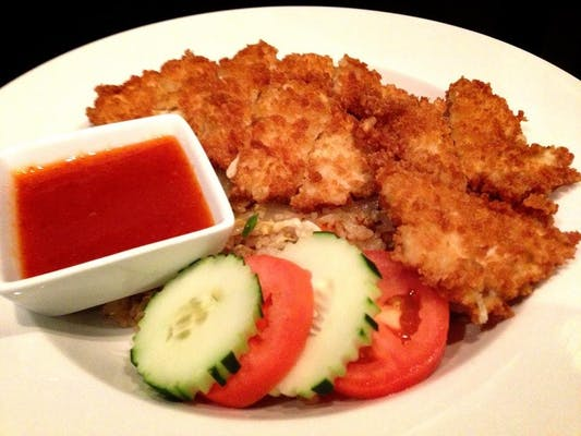 Thai Fried Rice & Crispy Chicken Lunch Special