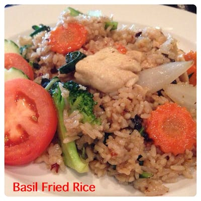 Spicy Basil Fried Rice Lunch Special