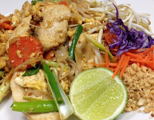 Pad Thai Noodles Lunch Special