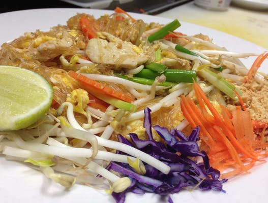 Pad Thai Glass Noodles Lunch Special