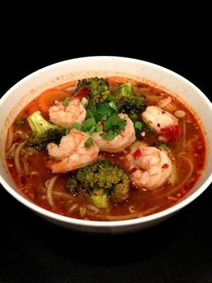 Tom Yum Noodles Lunch Special