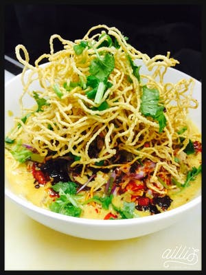 Khao Soi Noodles Lunch Special