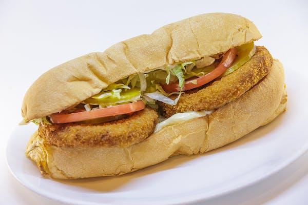 Crab Patty Sandwich