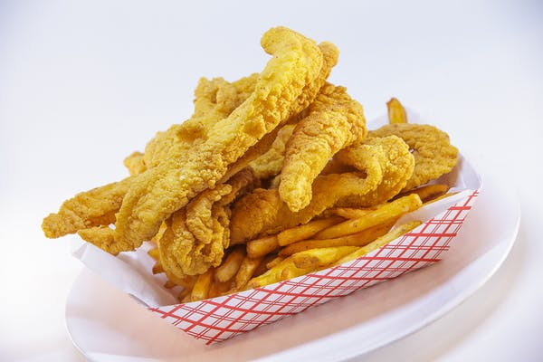 Fried Fish Boat