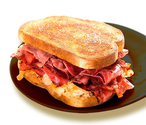 Reuben Sandwich with (5 pc.) Wings & Drink