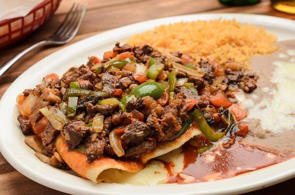 Enchilada a la Taqueria Mexico