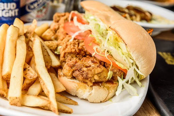 Deep-Fried Oyster Po-Boy