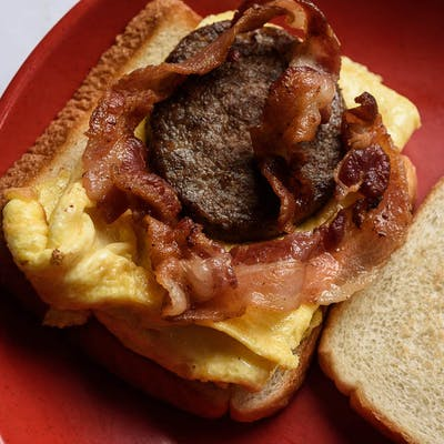 Eggs & Meat Patty